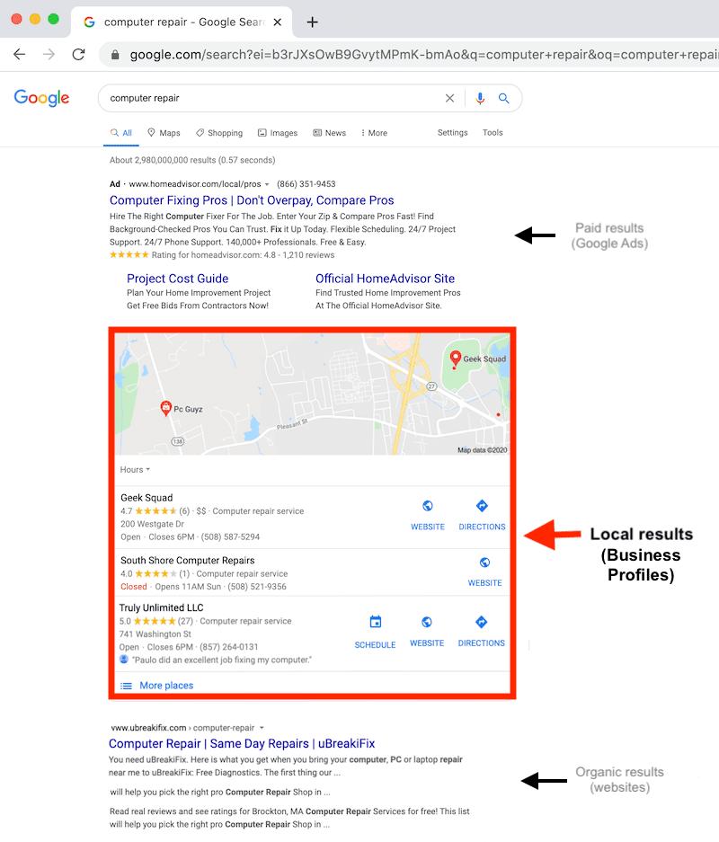 tipptopp communications article google my business seo e reputation 2