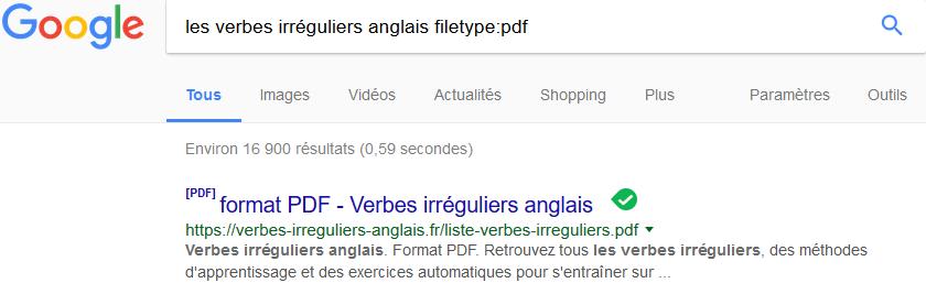 tipp topp comment faire une recherche specifique sur google 2